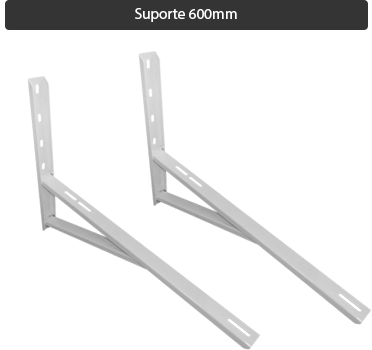 Suporte split 600mm reforçado