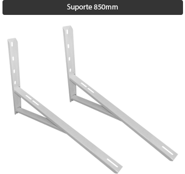 Suporte split 850mm reforçado